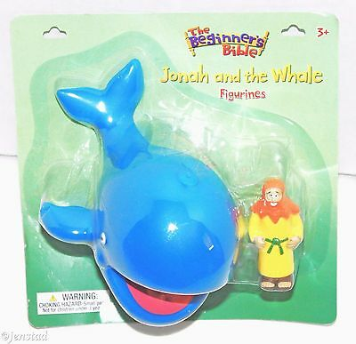 Jonah And The Whale Christian Toy Figure From The Beginners Bible Figurine 2013 • 9.17£
