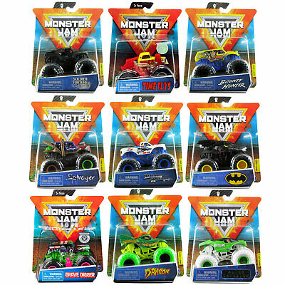 Monster Jam Official 1:64 Scale Die-Cast Trucks *CHOOSE YOUR TRUCK* • 9.99£