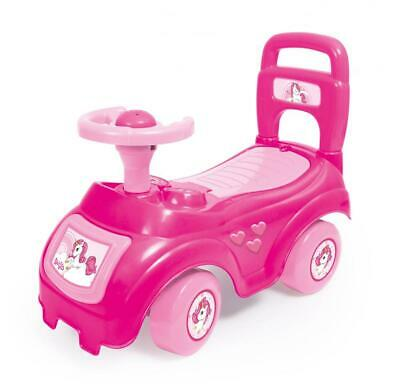 Dolu UNICORN Kids Ride On 'Sit N Ride' Girls Infant Stroller Push Along Walker • 14.99£