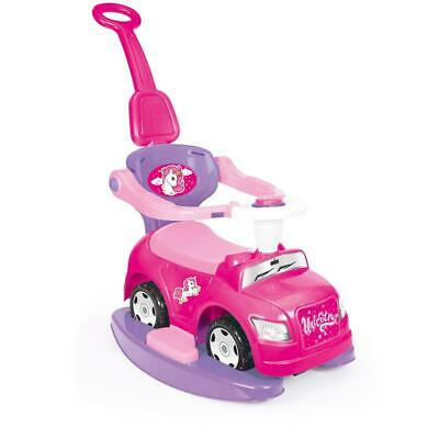 Dolu Unicorn Step Car 4-In-1 Kids Girls Walk N Ride On Push Toy Pink 1Yr + 2537 • 39.99£