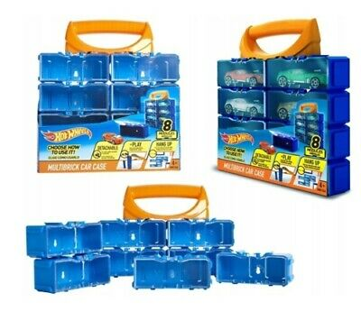 Hotwheels Multibrick 8 Slot Car Case (cars Not Included) • 5.95£
