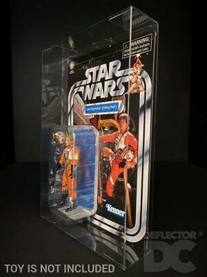 DEFLECTOR DC® MOC DISPLAY CASE: Star Wars The Vintage Collection 3.75  Figure • 14£