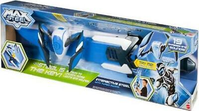 Max Steel Interactive Steel With Turbo Sword Age 4 + ~Brand New~ • 39.90£