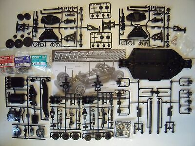 Choice Of New Spare Parts For 'Tamiya TT-02 / TT02 Chassis' • 19.99£