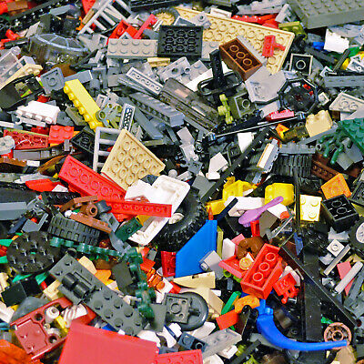 Genuine Lego Bundle Mixed 1 Kg -1000g Bricks Parts Pieces Bulk 1 Kilogram  • 16.99£