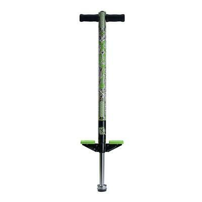 Xootz Industrial Kids Boys Girls Pogo Stick Outdoor Fun Activity Game Toy Green • 29.99£