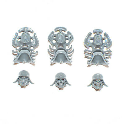Ossiarch Bonereapers Necropolis Stalkers Heads X 3 - G2604 • 4.56£