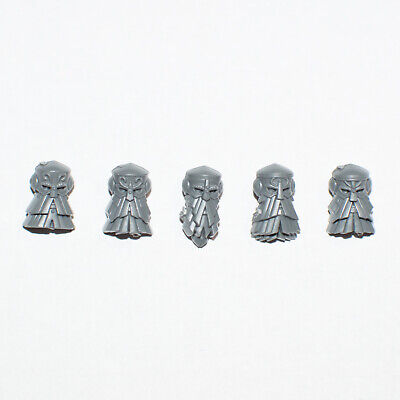 Cities Of Sigmar Ironbreakers Heads B X 5 - G2389 • 4.20£