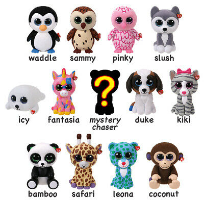 TY MINI BOOS Series 1 Hand Painted Collectible Figures Choose Your Own Character • 3£