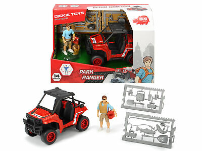 Dickie Toys Playlife Park Ranger With Quad Bike & Accessories 14pcs Age 3+ • 13£