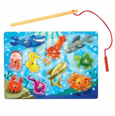 Melissa And Doug Fishing Magnetic Puzzle Game • 8.49£