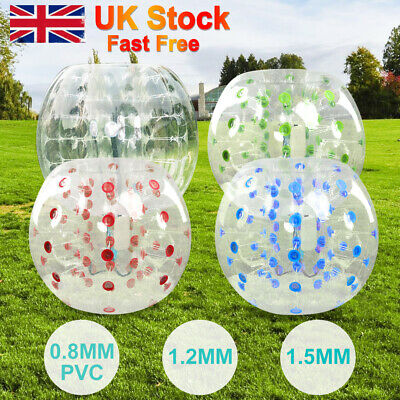 New 1.2M/1.5M  Bumper Inflatable Ball Body Zorbing Zorb Soccer Bubble  Football  • 63.98£