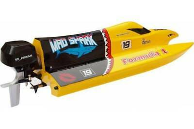 Mad Shark 2.4 GHz RTR Mini EP F1 Speed Boat Topspeed 25 Km/h :NEW Old Stock • 64£