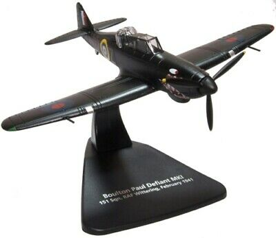Oxford Aviation Ac094 1/72 Boulton Paul Defiant Diecast Model Plane • 17.95£