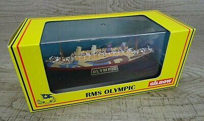 Gilbow RMS Olympic Liner Display Model Ship Scale 1:1750 NEW • 27.99£