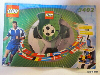 Vintage LEGO 3402 Instructions Only • 6£