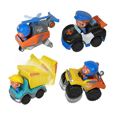 Blippi Mini Vehicles Chosse From 4 Styles Fire Truck,Excavator, Garbage,Mobile • 10.99£