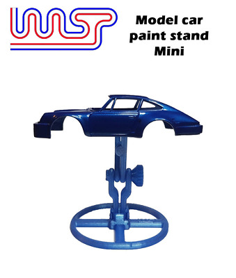 Model Car Paint Stand Slot Car 1:48 And 1:32 Scale New WASP • 11£