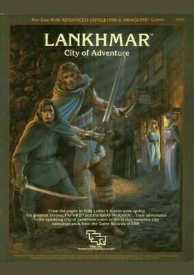 *USED GD* Lankhmar - City Of Adventure For Use With Advanced Dungeons And D #200 • 40£