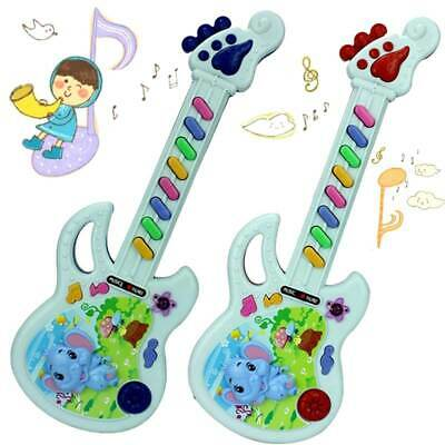 Children Kids Plastic Guitar Keyboard Musical Instrument Educational Toys Gifts • 6.64£