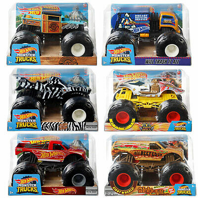 Hot Wheels Monster Trucks 1:24 Collection *Choose Your Favourite* • 12.99£