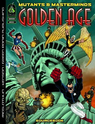 Mutants & Masterminds: Golden Age  • 22.99£
