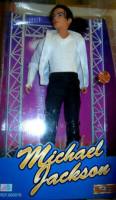 Michael Jackson Official Vintage  Black Or White Poseable Doll Figure Boxed  New • 39.90£
