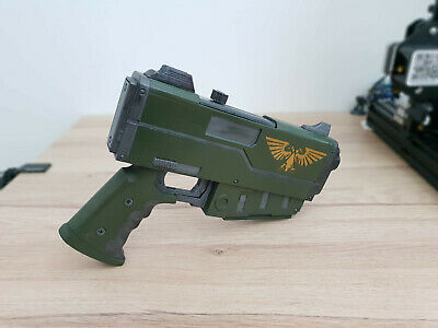 Imperial Guard Pistol Warhammer 40K/ Cosplay Kit/ Prop Kit/Paint Yourself/ • 23.99£