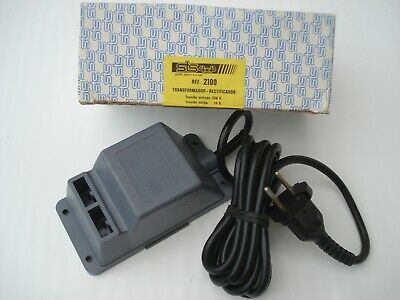 Vintage Scalextric 2100 STS 10.5 Volt Transformer Boxed,. Exin Lines. SEALED • 40£