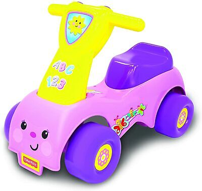 Fisher Price Girls Push 'N Scoot Outdoor Garden Toy Toddler Ride On Toy Sounds • 15£