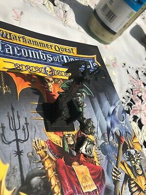 Warhammer Quest- Catacombs Of Terror Book Or Codex & Figures. • 90£