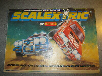 Scalextric 25th Edition 25 Catalogue • 4.99£