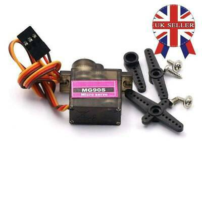 Metal Gear High Speed 9g Micro Servo Digital MG90S For RC Helicopter Plane HOT • 4.25£