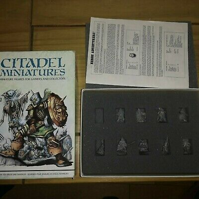 Citadel Miniatures :- Speciality Set - Bryan Ansell's Heroic Adventurers • 60£