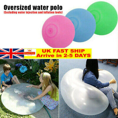 Super Outdoor Wubble Bubble Ball Toy Bubble Ball Firm Ball Stretch Transparent • 4.90£