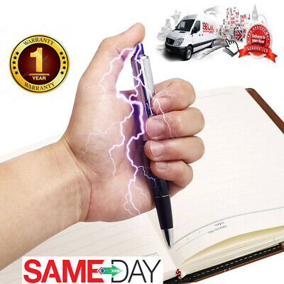 Electric Shock Pen Practical Joke  Gag Prank Funny Trick Fun Toy Gift April Fool • 2.98£