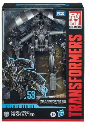 Construction Mixmaster Transformers Studio Series Voyager Collectible Action NEW • 49.99£