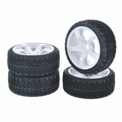1:10 RC On-Road Tyre Wheel Rim For Traxxas HSP Tamiya 4wd CC01 TTO1 HPI Kyosho • 9.99£