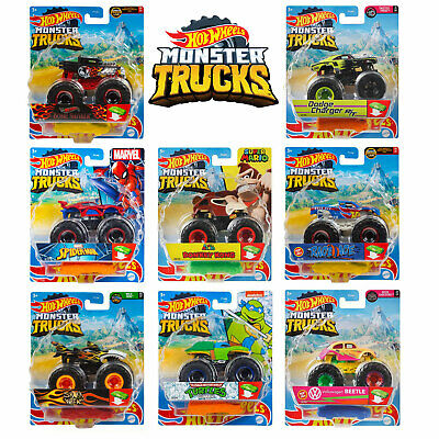 Hot Wheels Monster Trucks 1:64 Collection *CHOOSE YOUR TRUCK* • 5.99£