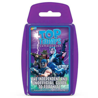 Independent & Unofficial Top Trumps Guide To Fortnite - Top Trumps Card Game NEW • 4.90£