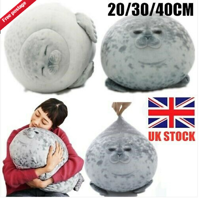 Latest Chubby Spotted Sea Animal Seal Cute Plush Pillow Doll Toy Kids Gift UK. • 8.99£