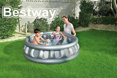 Bestway Inflatable Spaceship Children Kids Outdoor Garden Swimming Paddling Pool • 19.99£