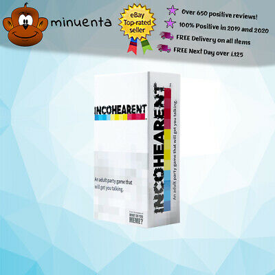 Incohearent   Adult Party Game From What Do You Meme?   Drinking Game   Fun Game • 22.99£