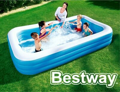 Bestway Kids Family Paddling Pool Inflatable Garden Swimming 8-10ft Outdoor Fun • 33.99£