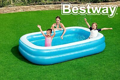Bestway Kids Summer Outdoor Paddling Pool Inflatable Garden Funny Swimming 8' 7  • 33.99£