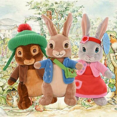 Cute Peter Rabbit Beatrix Potter Plush Toys Baby Kids Birthday Xsmas Gifts Doll • 7.99£