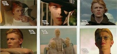 The Man Who Fell To Earth David Bowie Preview Card Set + PR2 Promo Card  • 4.95£