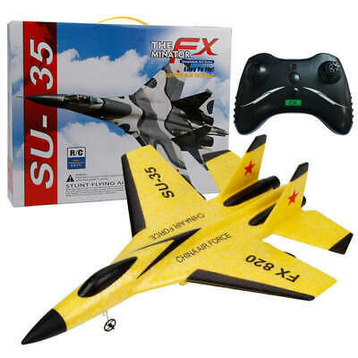 SU-35 RC Remote Control Aircraft Airplane Helicopter EPP Foam Plane Toy Gift G6 • 28.99£
