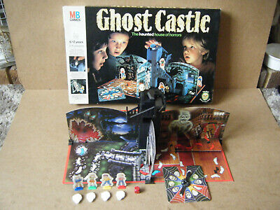 Classic  GHOST CASTLE  Creepy Board Game. By MB Games 1986. See Description. • 49.99£