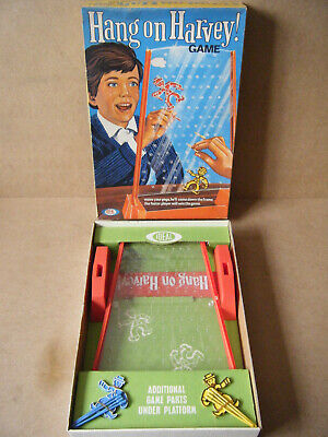 Vintage  HANG ON HARVEY  Family Game. By Ideal Games 1969. Complete. • 19.99£